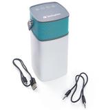 Parlante + Linterna Led Resistente Al Agua Verbatim - 98594