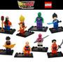 Dragon Ball Z Super Héroes Minifiguras X8 Calaz Toys