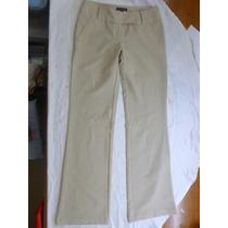 Pantalón Casual O De Vestir Beige Nuevo