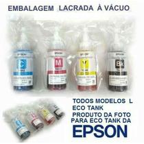 Kit Refil Epson Orig L110/120/l200/l220/l375/l355/l455/l1300