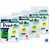 Cartucho Compatible Hp 940 Negro Colores Impresora 8000 8500