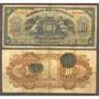 Billete De 10 Pesos Grande Del Banco De Mexico