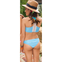 Bikinis 2017 Top+tiro Corto Sweet Victorian 565-17 Mallas