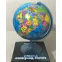 Globo Terraqueo Gloter 25 Cm Base Plastico 25cm De Diametro