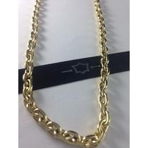 Ouro 18k 60 Cm. Corrente Oca Cartier
