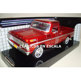 Ford F-100 Pickup 1969 - Clasica Argentina - R Motormax 1/24