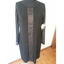 Vestidos Importados, Casual, Negro, Elegante