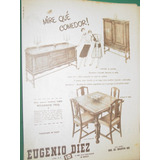 Publicidad Juego De Comedor Muebles Eugenio Diez