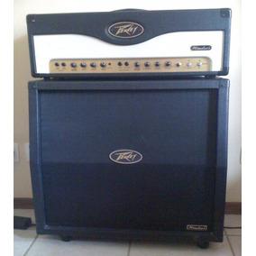 Amplificador Peavey Windsor Caixa + Cabeçote Perfeito Estado