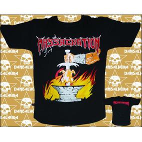 Camisetas - Bandas - Rock Bandalheira Massacration 230