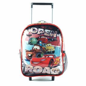 Cars Mochila Jardin 12 Con Carro Disney Tv Nenes Educando