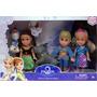 Bonecos Filme Frozen Baby 5 Unids Anna Elsa Olaf Hans Sven
