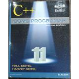 C++ Como Programar Deitel ¡envío Gratis!