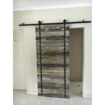 Desayunador barra de madera rustica aberturas puertas for Puertas corredizas rusticas