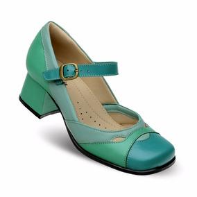 Sapato Boneca Estilo Retro (sistema Comfort) Cp 9590a