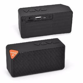 Caixa De Som Mini Bluetooth Fm Usb Portátil + Call Fone