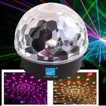 Esfera Led Magic Ball Más Poten. Dmx Dj Fiestas Multicolores