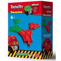 Trencity P Tren Desvios Plastico Abs Compatible Thomas