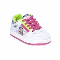 Zapatillas Addnice Disney Nena Violetta Corazon Fluo Oferta