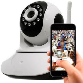 Câmera Segurança Hd Residencial Ip Wireless Android Iphone