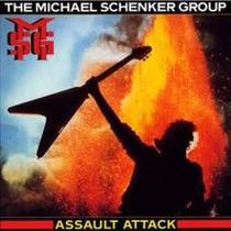 Lp/vinyl De The Michael Schenker Group: Assault Attack 1985