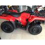 Cuatriciclo Honda Trx 420 Te 0km 2015 4x2 Rojo Electri Shif