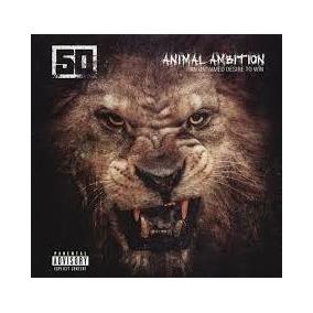 Cd 50 Cent - Animal Ambition (cd) Original Lacrado Rap Int