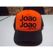 Boné João João Personalizado Trucker Divesas Cores