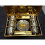 Jogo De Xícaras Porcelana Chinesa Luxo Gold Ling - Original