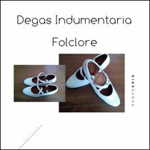 Zapatos Para Danza Flamenco Español Folclore De Cuero