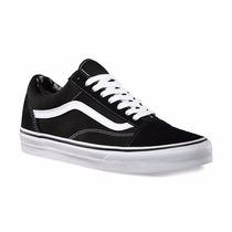 Vans Old School Black Talles 34 Y 35. Envio Gratis