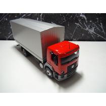 Caminhão Vw Constellation 15.180 Esc. 1:43 Schuco Vermelho