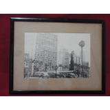 Antigo Quadro Cidade De São Paulo Antiga