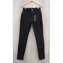Calça Zoe Jeans - Super Skinny - C/elastano - Preta