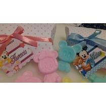 Minnie Y Mickey Bebe De Jabón Con Cajita Almohada