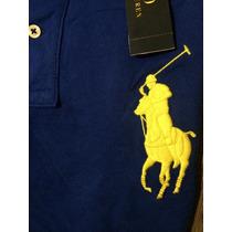 Playera Polo Ralph Lauren Big Pony Genuina... Única En Ml