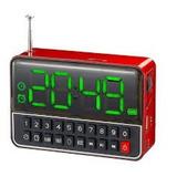 Despertador Digital Mp3 Radio Fm / Usb - Ws-1513