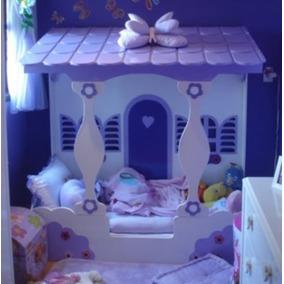 Cama Infantil De Casinha Feminina - 170x80