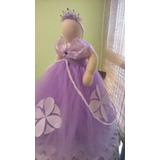 Vestido De Princesa Sofia De Tul