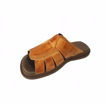 Sandalias Chinelo Masculino 100% Couro