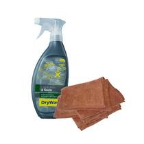 Kit Lavagem A Seco 600ml + 2 Panos De Microfibra Drywash
