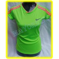 Playera Deportiva Lycra Puma Nike Unde Blusa Gym Manga Corta