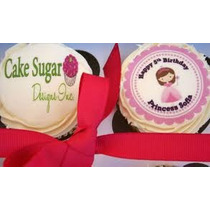 Obleas Impresas Pasteles Transfer Cupcakes Galletas Paletas