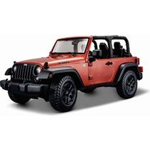 Maisto 1/18 Jeep Willys Wrangler 2014 Open Top Diecast