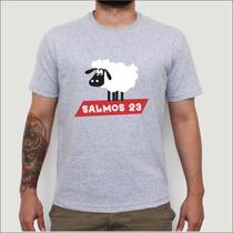 Camiseta Camisa Salmos 23 Crista, Evangélica, Gospel Blusa
