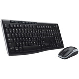 Kit Teclado Y Mouse Multimedia Logitech Mk270 Inalámbrico