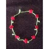 Corona De Flores Tejida A Crochet