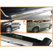 Estribo Personalizado Cor Original Hyundai Tucson Preto