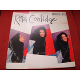 Lp Rita Coolidge - Greatest Hits - 1980 Usa - 1a Edicion