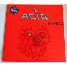 Acid Maniac Lp Hooked On Metal Engine Beast Iron Maiden